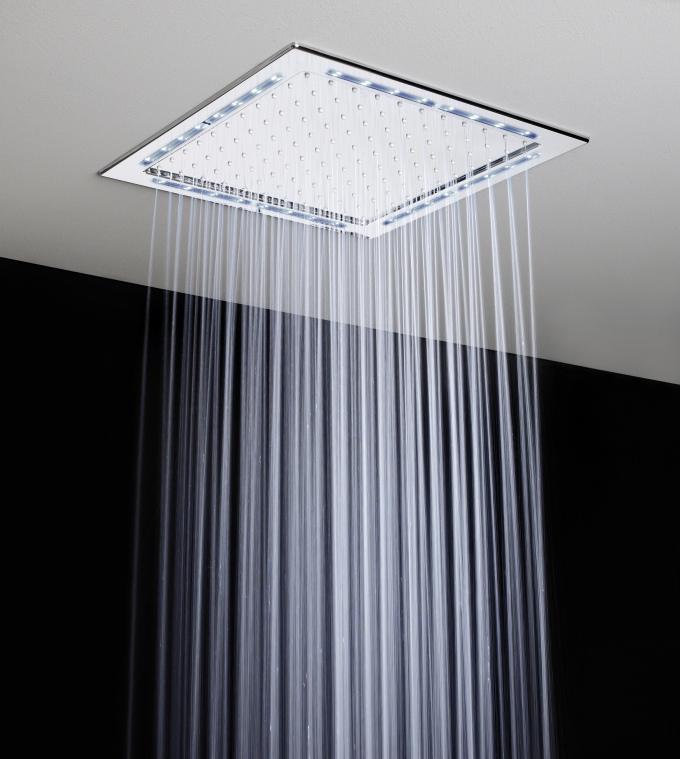 Deszczownice LED do wbudowania w sufit