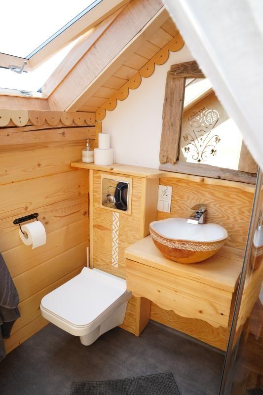 Dom z drewna - pomysły na łazienkę