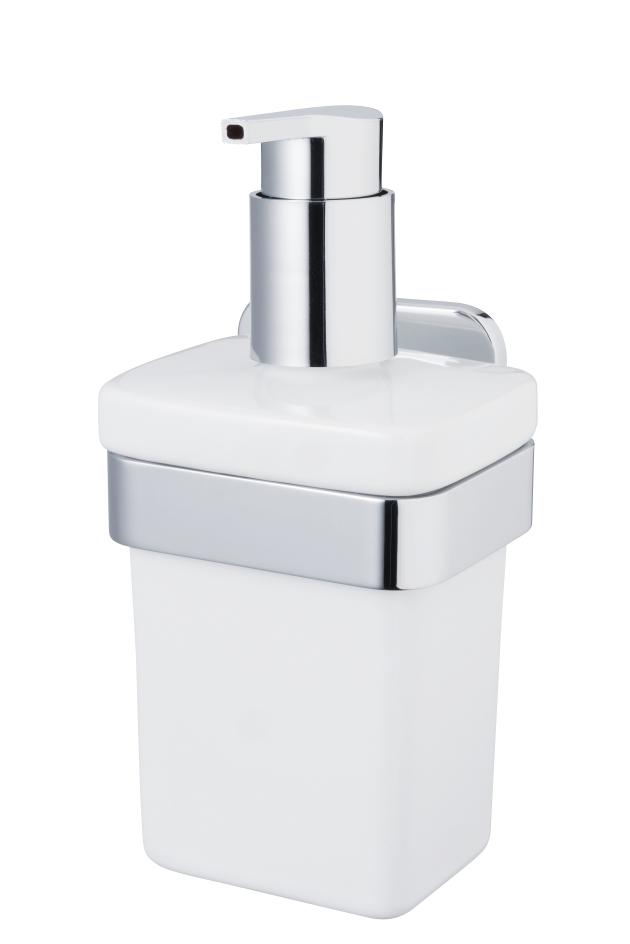 Dozownik mydła w łazience - wiszący czy stojący