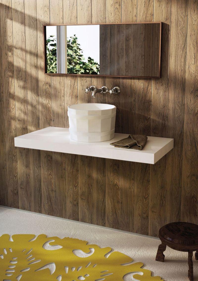 Panele ścienne W łazience Trendy W łazience Lazienkowypl
