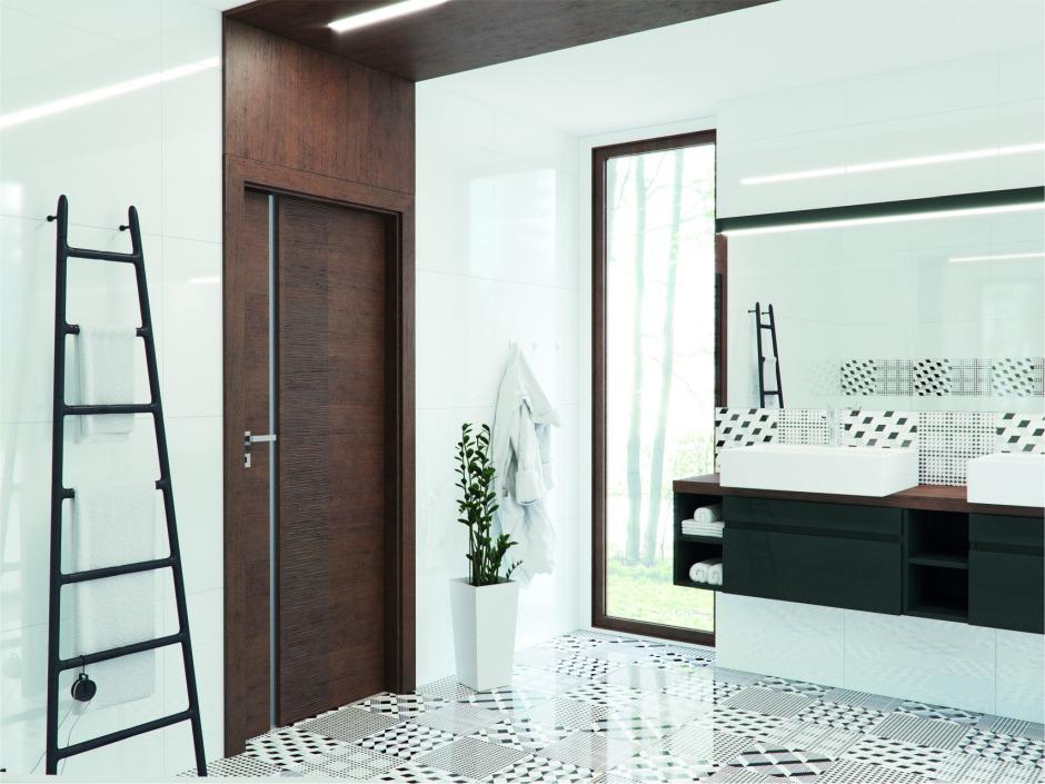 Drzwi łazienkowe a wentylacja