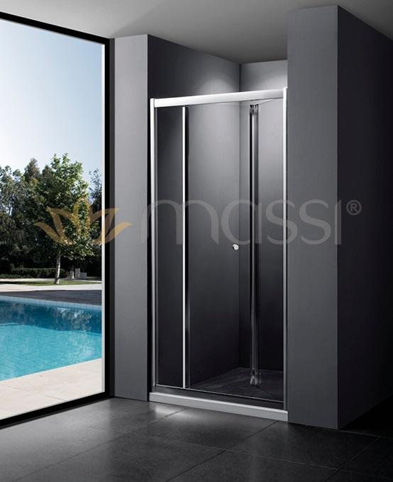 Massi - drzwi prysznicowe łamane Case 80/90