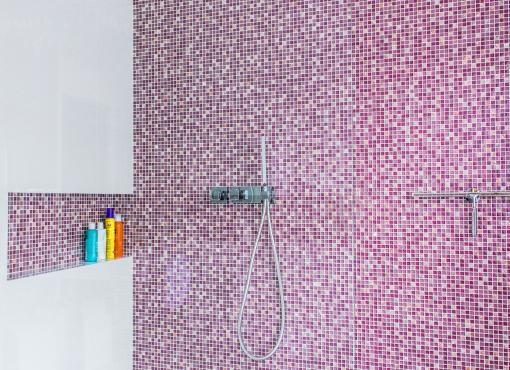 Ożywienie łazienki kolorami