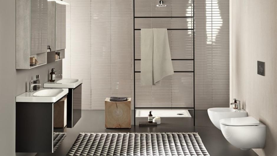 Pomysł na dużą łazienkę z Geberit Acanto