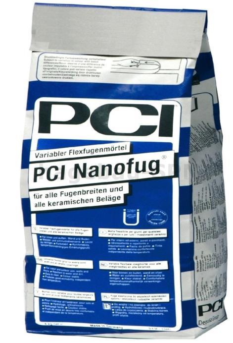 Uniwersalna, elastyczna fuga cementowa PCI Nanofug® do wszystkich okładzin ceramicznych i wszystkich szerokości spoin