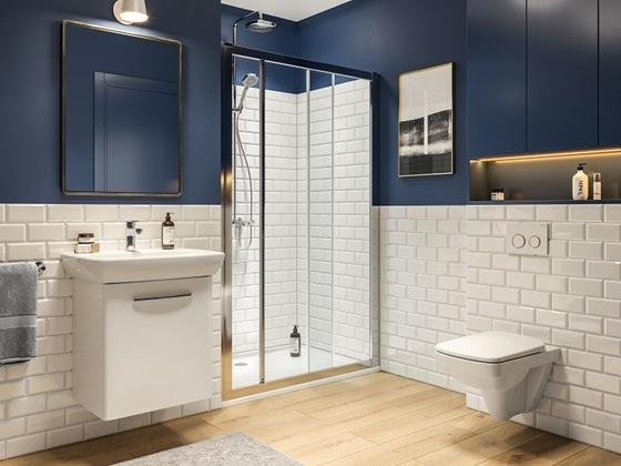 Kabiny prysznicowe Geo do każdej łazienki