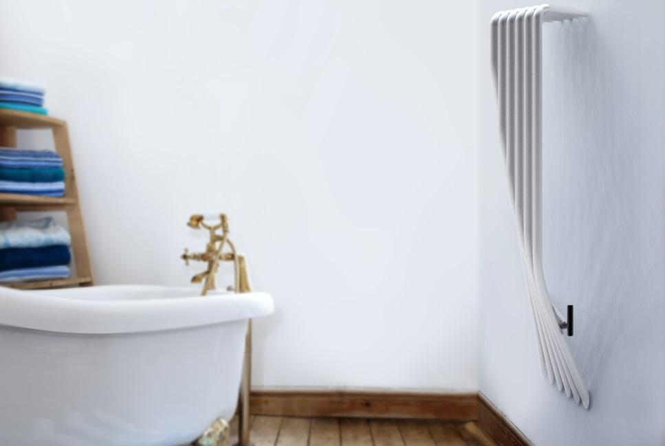 Grzejnik łazienkowy o wyjątkowych kształtach