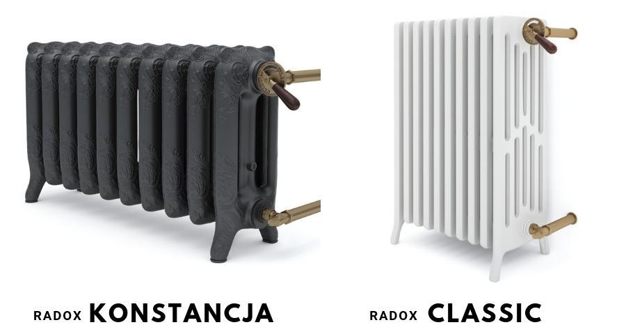 grzejniki żeliwne Radox Konstancja i Radox Classic