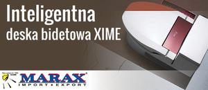 Elektroniczna deska bidetowa XIME - Marax
