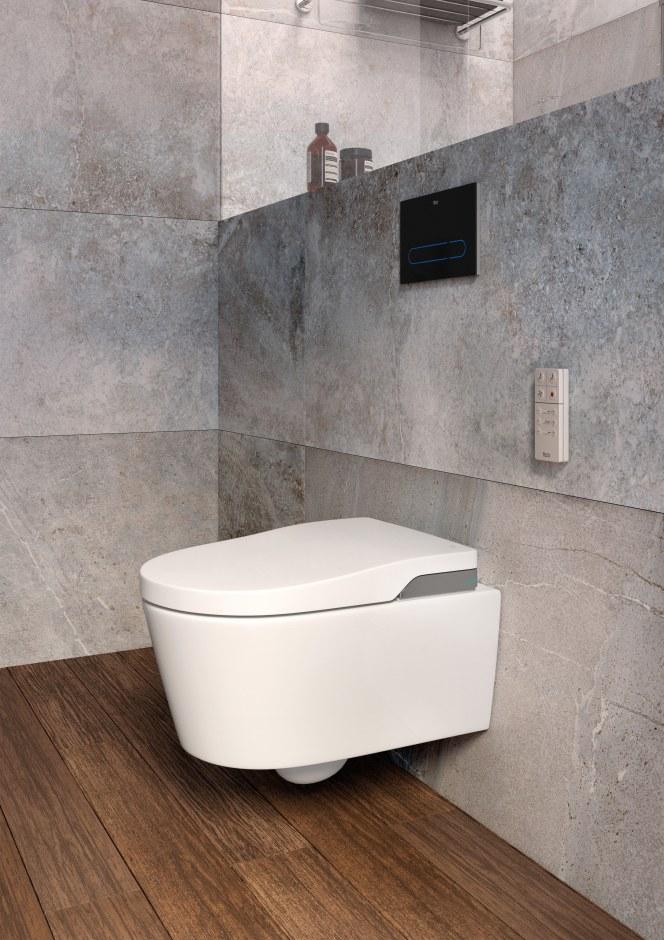Toaleta z bidetem Roca In-Wash Inspira