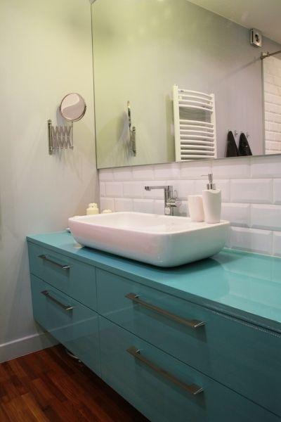 Błękit w łazience