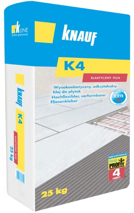 Knauf Bauprodukte Polska - Knauf K4 Elastyczny Plus (C2TE S1)