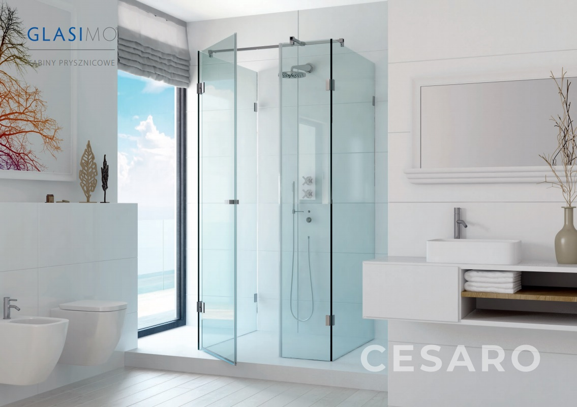 Glasimo - szklana kabina prysznicowa Cesaro