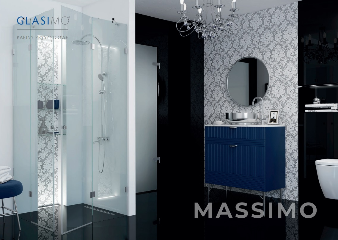 Glasimo - szklana kabina prysznicowa Wittorio