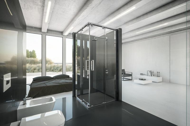 kabina prysznicowa KOŁO Ultra z powłoką samoczyszczącą