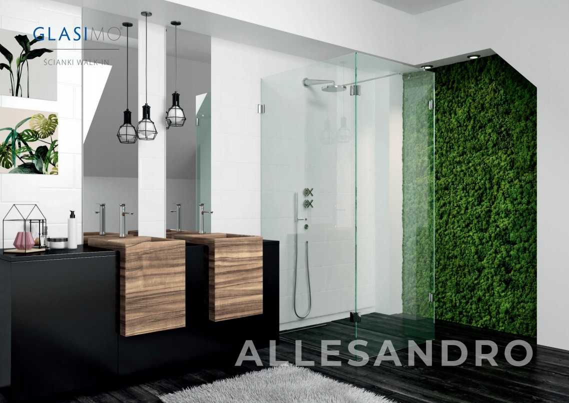 kabina prysznicowa walk-in Glasimo