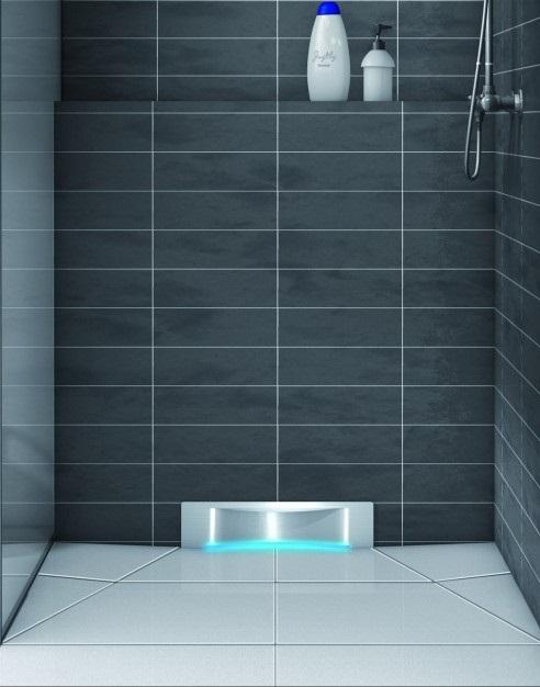 Kessel Scada - odpływ prysznicowy do montażu w ścianie