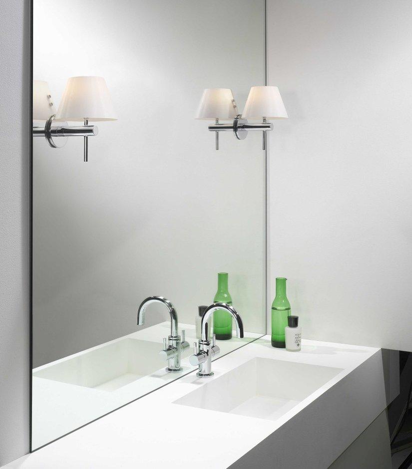 Oświetlenie łazienkowe w stylu vintage