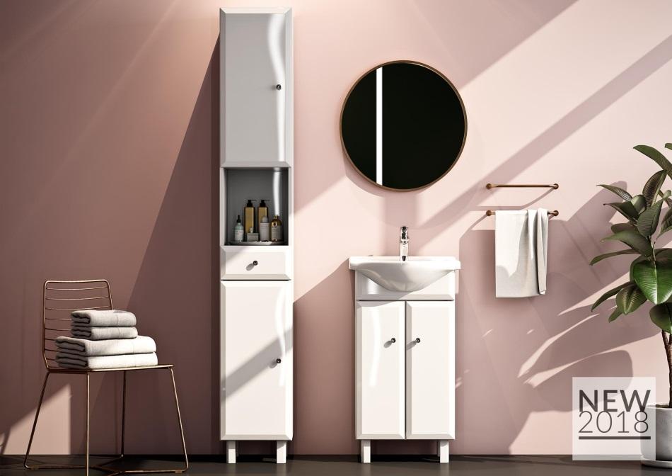 meble łazienkowe z kolekcji Alesia - DEFRA