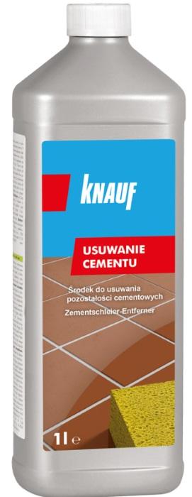 Knauf środek do usuwania pozostałości cementowych