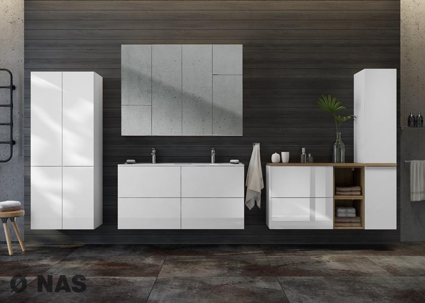 TORINO - propozycja aranżacji łazienki w rozmiarze L