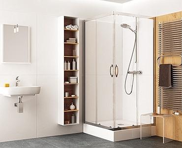 Kabiny prysznicowe kwadratowe - zestawienie oferty producentów