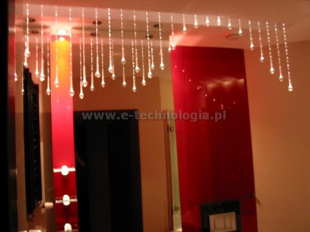 lampa światłowodowa Kryształowe Kule
