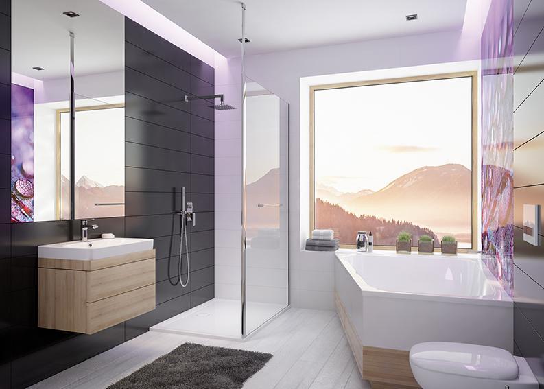 Sanplast - aranżacja łazienki z wanną