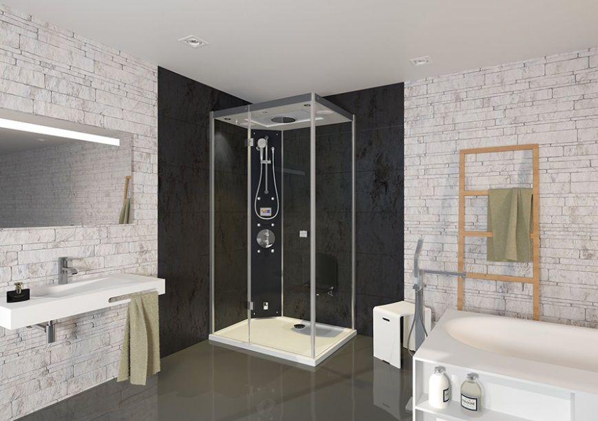 Kabina parowa Majestic Riho - modna łazienka