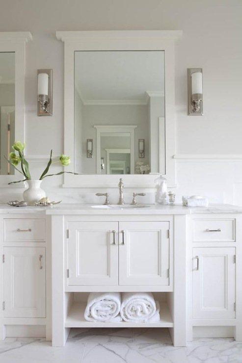 Łazienka w stylu Hampton - style w łazience lazienkowy.pl