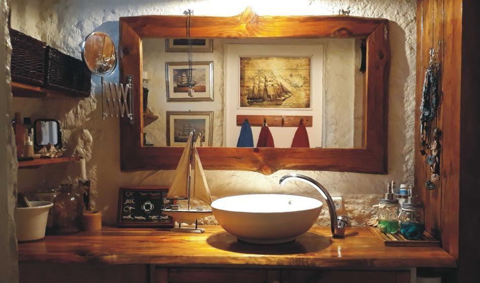 Motywy dekoracyjne w łazience - elementy żeglarskie