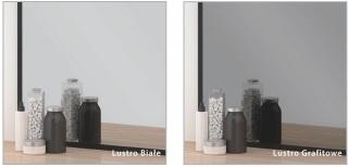 Szkło Colorimo - białe i grafitowe