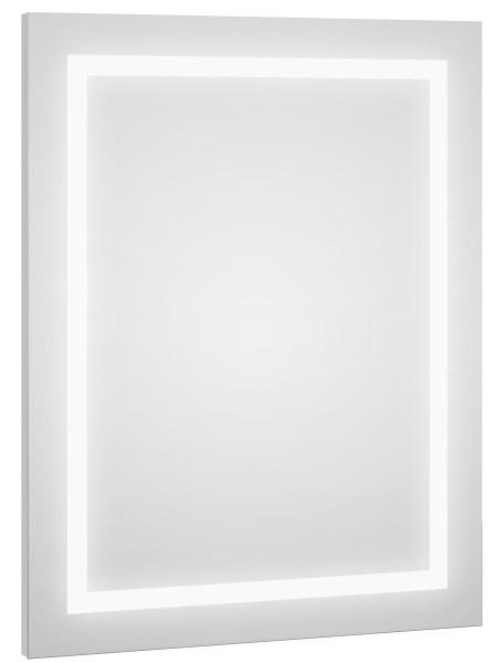 lustro łazienkowe Defra z wbudowanym oświetleniem LED Deftrans