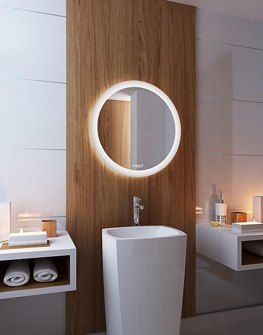 Lustro łazienkowe Volante LED z oświetleniem LED lustrodlaciebie.pl