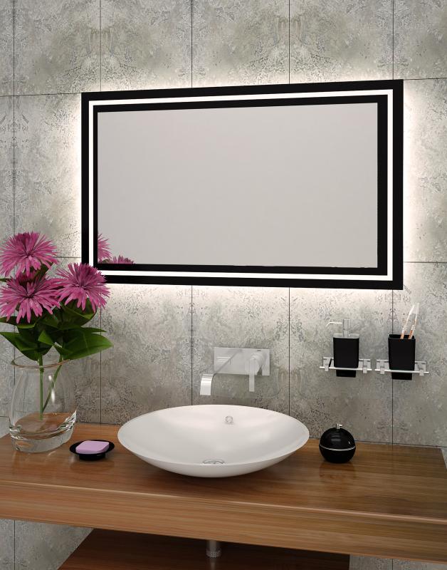 Lustro łazienkowe Vitrum LED z oświetleniem LED lustrodlaciebie.pl