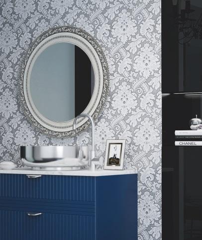 lustro łazienkowe ze szklaną ramą - Digital Print