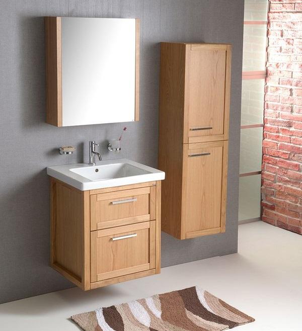 meble łazienkowe Sapho Larit - szafka z lustrem