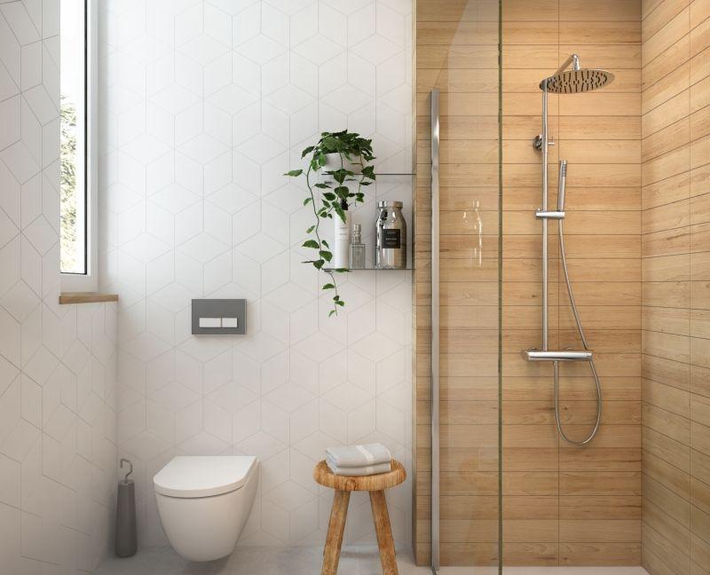 Mała, ale stylowa łazienka