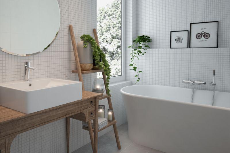 Konsola do małej łazienki