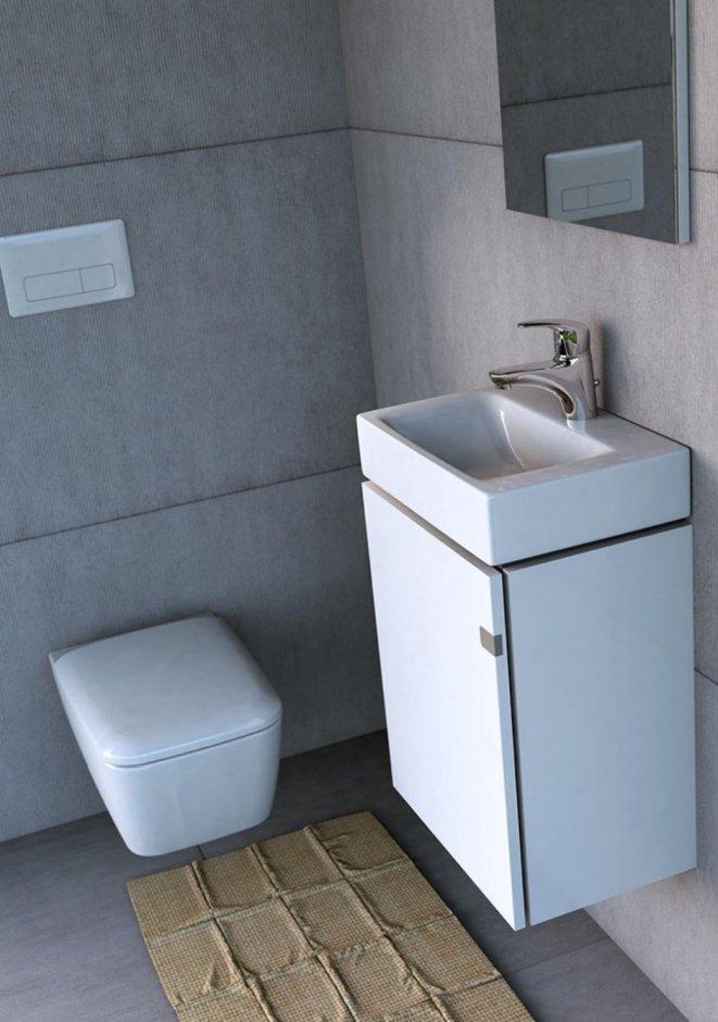 Mała łazienka w ciemnych kolorach - to możliwe!