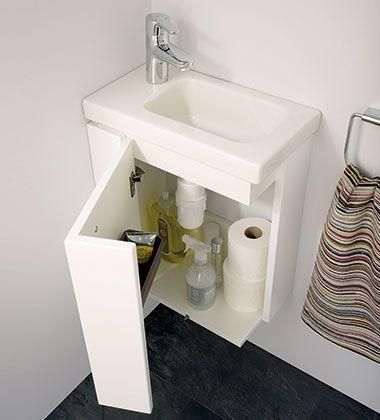 Kompaktowe meble do łazienki