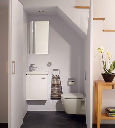 Kolekcja mebli Connect Space do małej łazienki