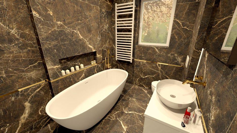 Marmur do klasycznej łazienki
