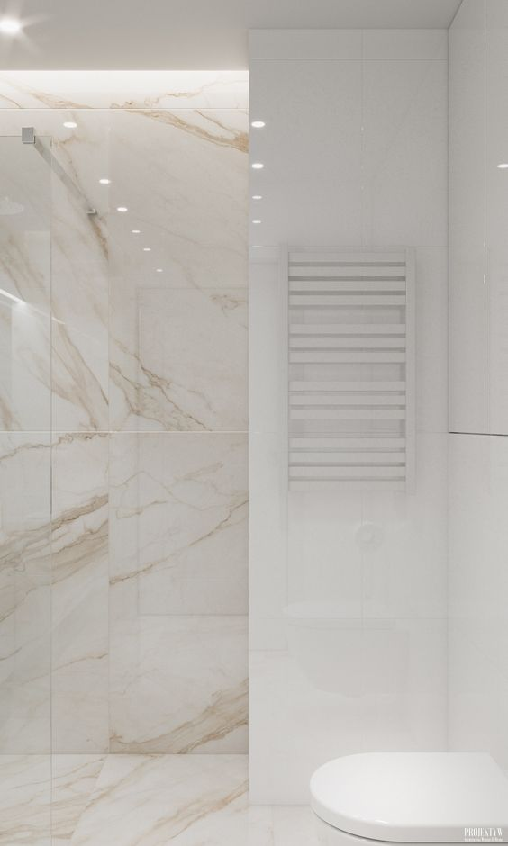 Płytki marmurowe w nowoczesnej łazience