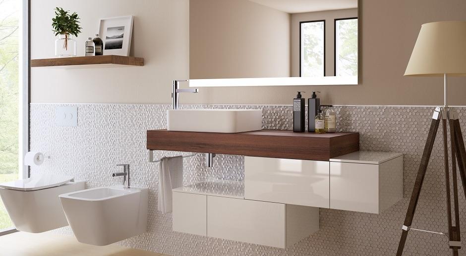 Meble modułowe Adapto – zaadaptuj je do potrzeb i możliwości łazienki