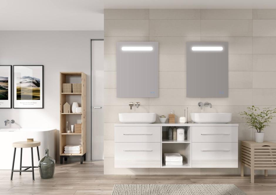 Warto pamiętać o regularnym czyszczeniu mebli łazienkowych
