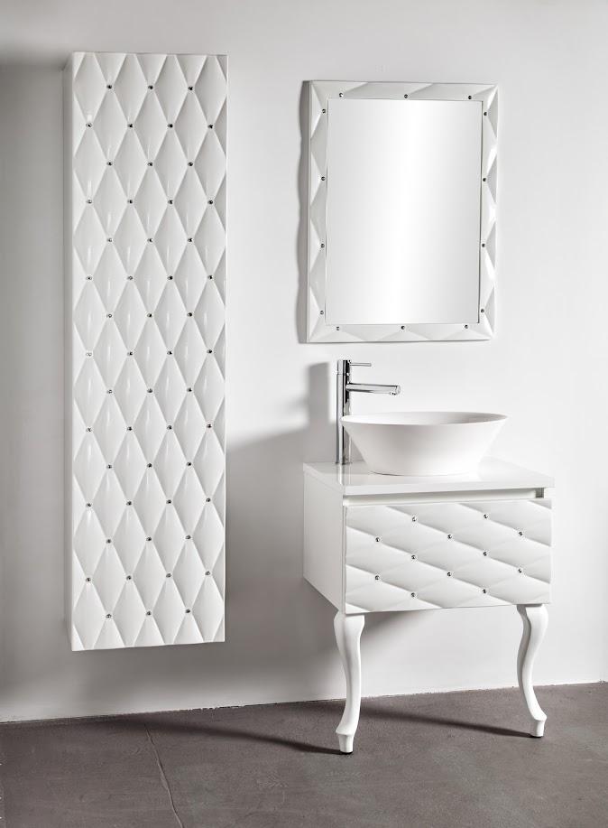 Meble łazienkowe w stylu glamour
