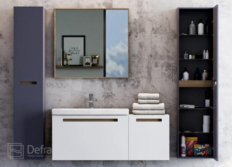 meble łazienkowe z kolekcji SENSO - Defra