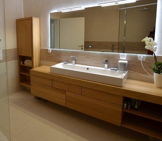 Edar - meble łazienkowe z drewna dębowego