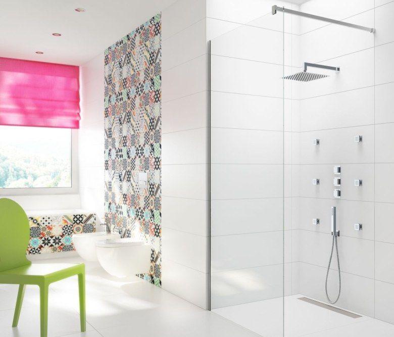 Miks wzorów, czyli patchwork w łazience
